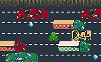 free frogger game